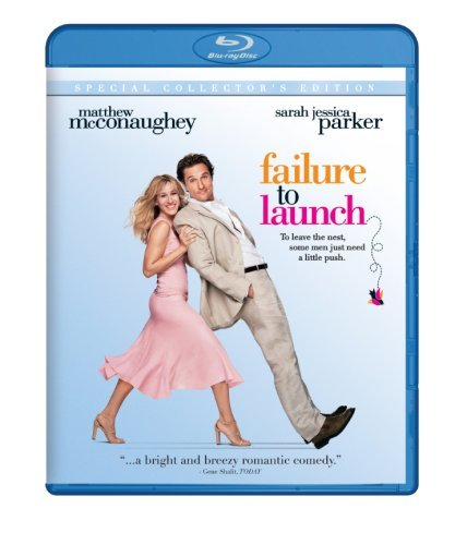 Failure To Launch Mcconaughey Jessica Bates Ws Blu Ray Pg13