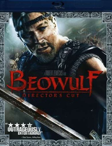 Beowulf (2007) Jolie Hopkins Malkovich Ws Blu Ray Free Movie Sticker Ur