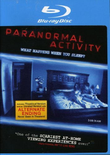 Paranormal Activity Featherston Sloat Bayouth Blu Ray Unrated