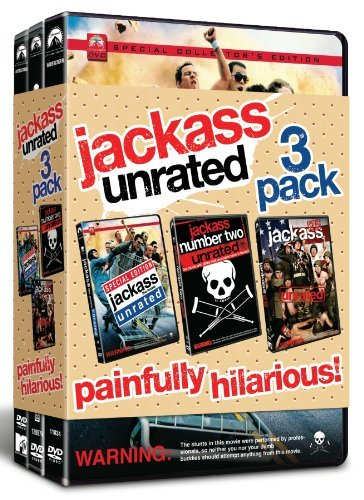 Jackass Unrated 3 Pack Jackass Unrated 3 Pack Ws Ur 3 DVD