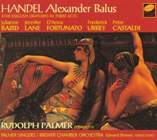 George Frideric Handel Alexander Balus Baird Lane Fortunato Urrey Palmer Brewer Co