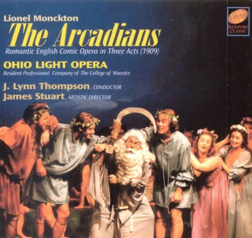 L. Monckton Arcadians Comp Opera 2 CD Thompson Ohio Light Opera