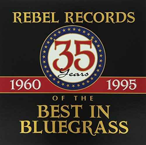 Rebel Records 35th Anniversary Country Gentelmen Stanley 4 CD