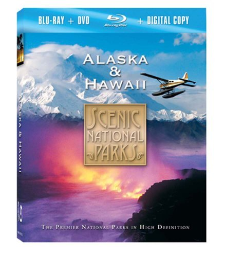 Alaska & Hawaii Scenic National Parks Blu Ray Ws Nr