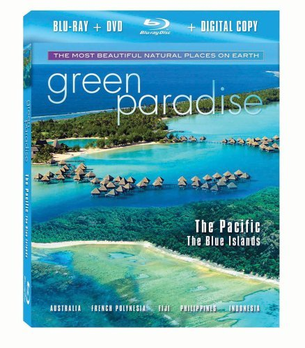 Pacific Green Paradise Blu Ray Ws Nr Incl. DVD