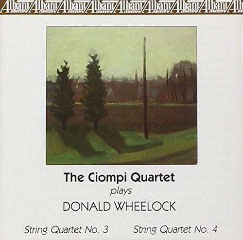 Donald Wheelock Ciompi Quartet Plays Donald Wh Ciompi Qt