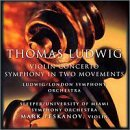 Thomas Ludwig Concerto For Violin & Orchestr Peskanov*mark (vn) Sleeper & Ludwig Various