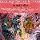 Druckman Musto Thomas New American Soloists Rosen Russell Sperry Jacob London Cleveland Chbr Sym