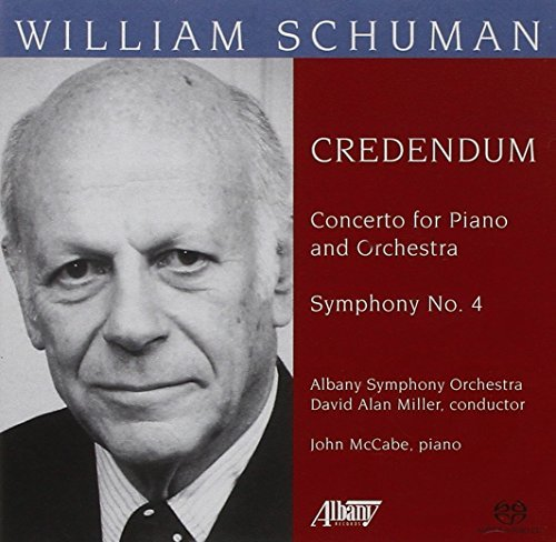 William Schuman Orchestral Music Sacd 6 Ch Mccabe*john (pno) Miller Albany So