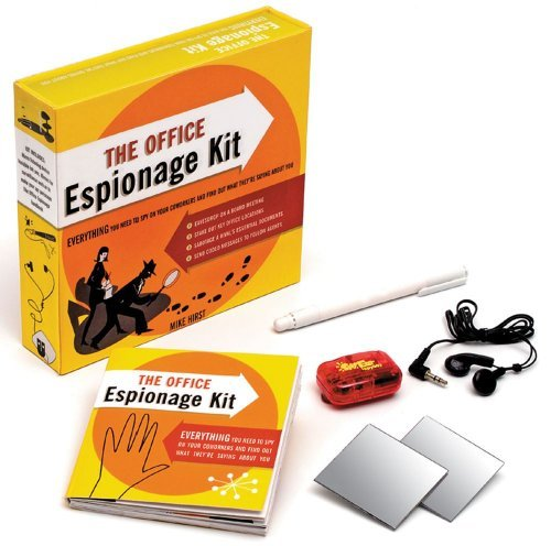 Mike Hirst Office Espionage Kit The Everything You Need To Spy On Your Co Workers And