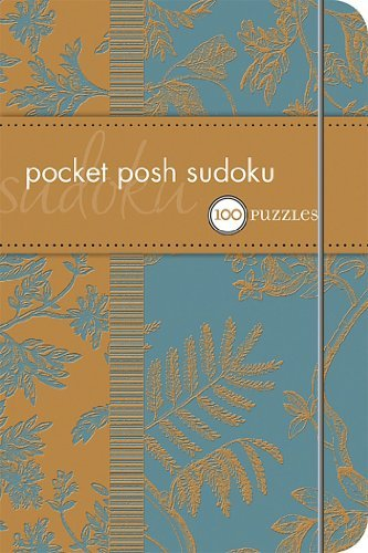 The Puzzle Society Pocket Posh Sudoku 100 Puzzles