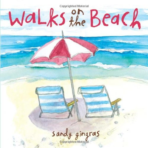 Sandy Gingras Walks On The Beach