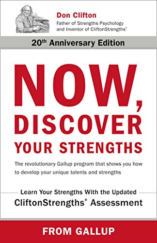 Marcus Buckingham Now Discover Your Strengths