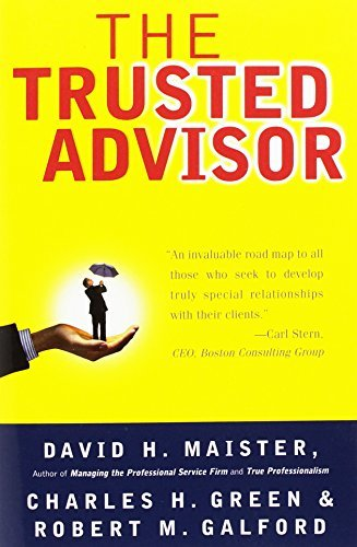 David H. Maister The Trusted Advisor