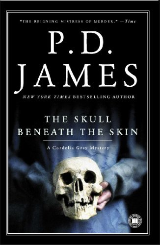 P. D. James The Skull Beneath The Skin Scribner Pb Fic
