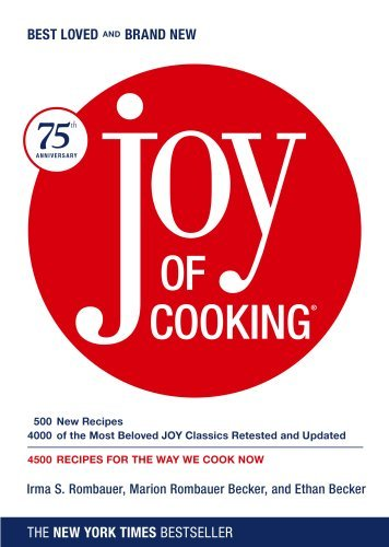 Irma S. Rombauer Joy Of Cooking Joy Of Cooking 0075 Edition;anniversary