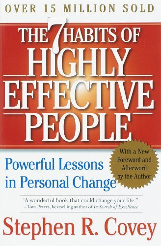 Stephen R. Covey The 7 Habits Of Highly Effective People Powerful Lessons In Personal Change 0002 Edition;rev