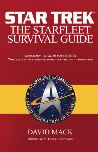 David Mack The Starfleet Survival Guide Original