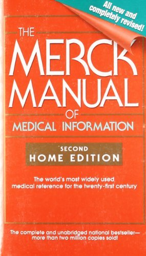 Mark H. Beers The Merck Manual Of Medical Information 0002 Edition;revised