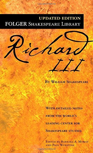 William Shakespeare The Tragedy Of Richard Iii