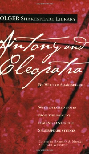 William Shakespeare Antony And Cleopatra