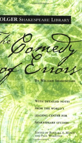 William Shakespeare The Comedy Of Errors