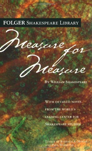 William Shakespeare Measure For Measure