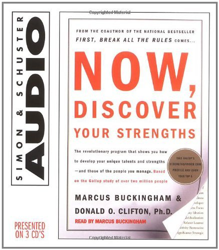Marcus Buckingham Now Discover Your Strengths Abridged