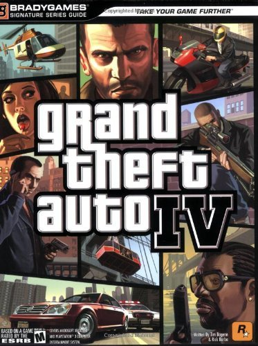 Bradygames Grand Theft Auto Iv [with Fold Out Map]