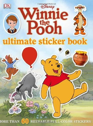 Dk Publishing Ultimate Sticker Book Winnie The Pooh