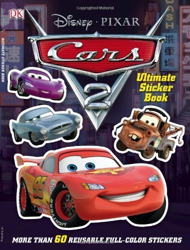 Jo Casey Cars 2 Ultimate Sticker Book