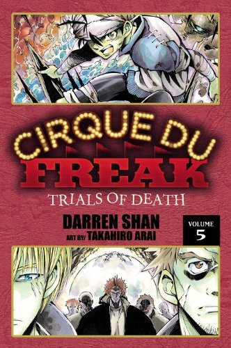 Darren Shan Cirque Du Freak The Manga Vol. 5 Trials Of Death