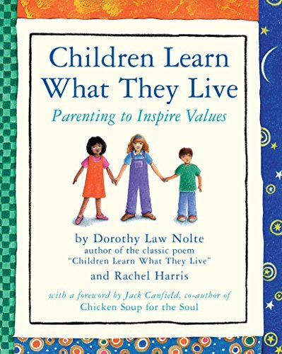 Rachel Harris Children Learn What They Live Parenting To Inspire Values Rev