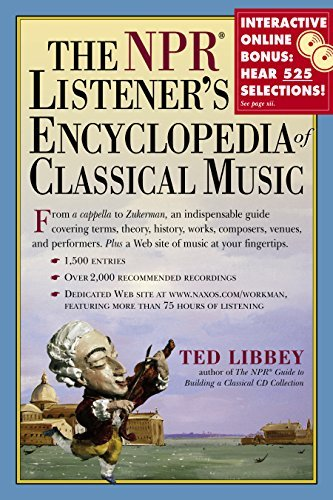 Ted Libbey The Npr Listener's Encyclopedia Of Classical Music