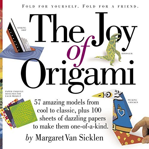 Margaret Van Sicklen Joy Of Origami [with 100 Sheets Of Origami Pap The