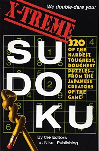 Editors Of Nikoli Publishing X Treme Sudoku