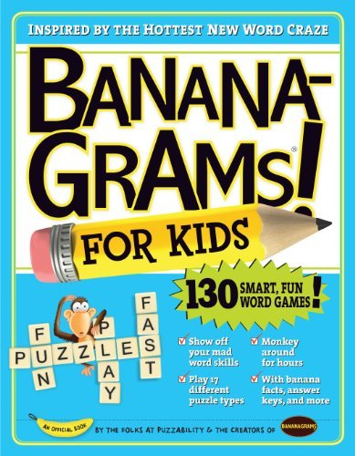 Puzzability Bananagrams For Kids