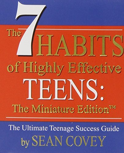 Sean Covey The 7 Habits Of Highly Effective Teens Mini