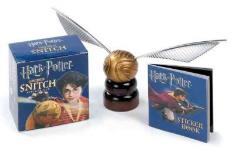 Running Press Harry Potter Golden Snitch Kit And Sticker Book [w