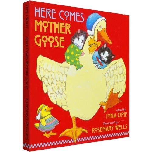 Iona Opie Here Comes Mother Goose