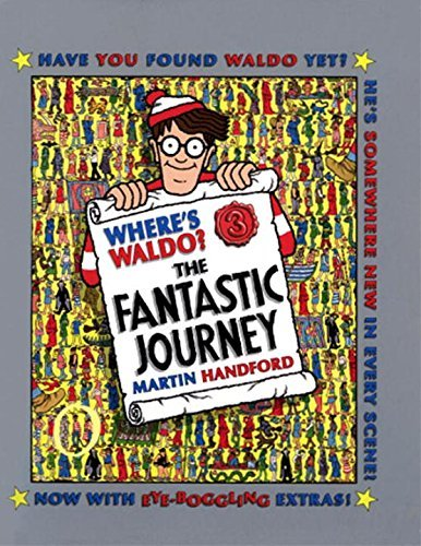 Martin Handford Where's Waldo? The Fantastic Journey Mini
