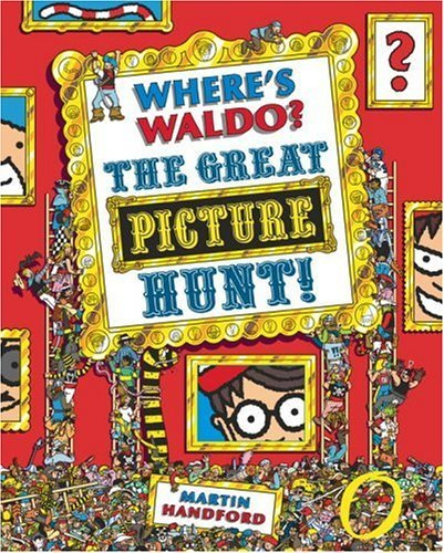 Martin Handford Where's Waldo? The Great Picture Hunt