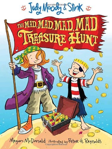 Megan Mcdonald Judy Moody And Stink The Mad Mad Mad Mad Treasure Hunt