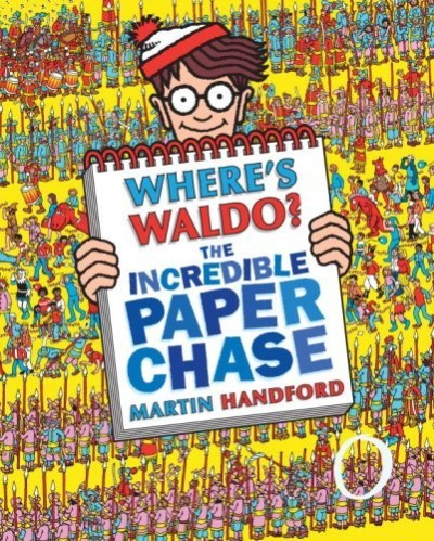 Martin Handford Where's Waldo? The Incredible Paper Chase [with Pu