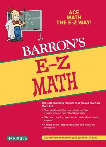 Anthony Prindle Barron's E Z Math 0005 Edition;