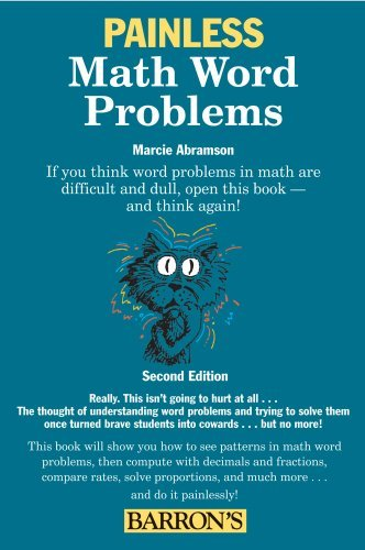 Marcie Abramson Ed M. Painless Math Word Problems 0002 Edition;