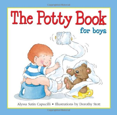 Alyssa Satin Capucilli Potty Book For Boys The