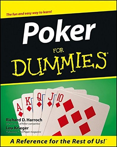 Richard D. Harroch Poker For Dummies