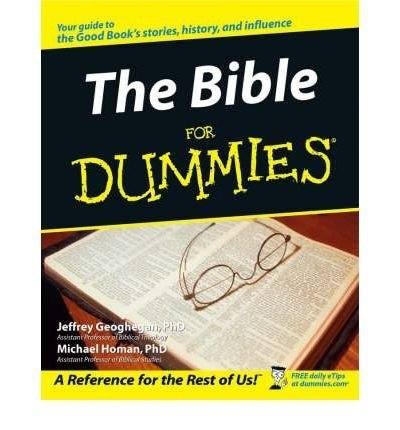 Jeffrey C. Geoghegan The Bible For Dummies