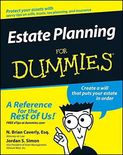 N. Brian Caverly Estate Planning For Dummies
